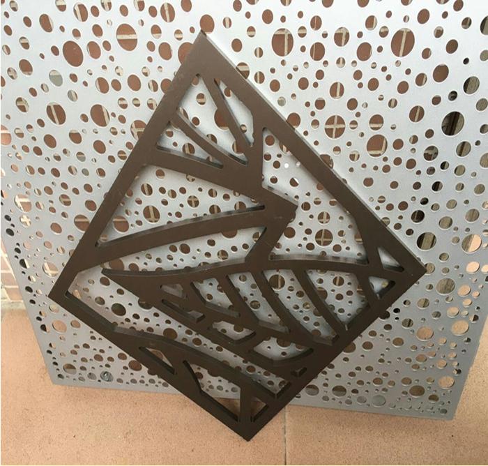 博物馆门头图案冲孔铝板详细介绍