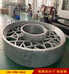 厂家专业定制中式铝合金花格窗创意定制产品
