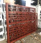 延吉旅游景區木紋色鋁窗格柵價格實惠