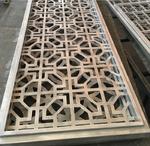 古建筑楼盘中式铝合金花格窗产品咨询