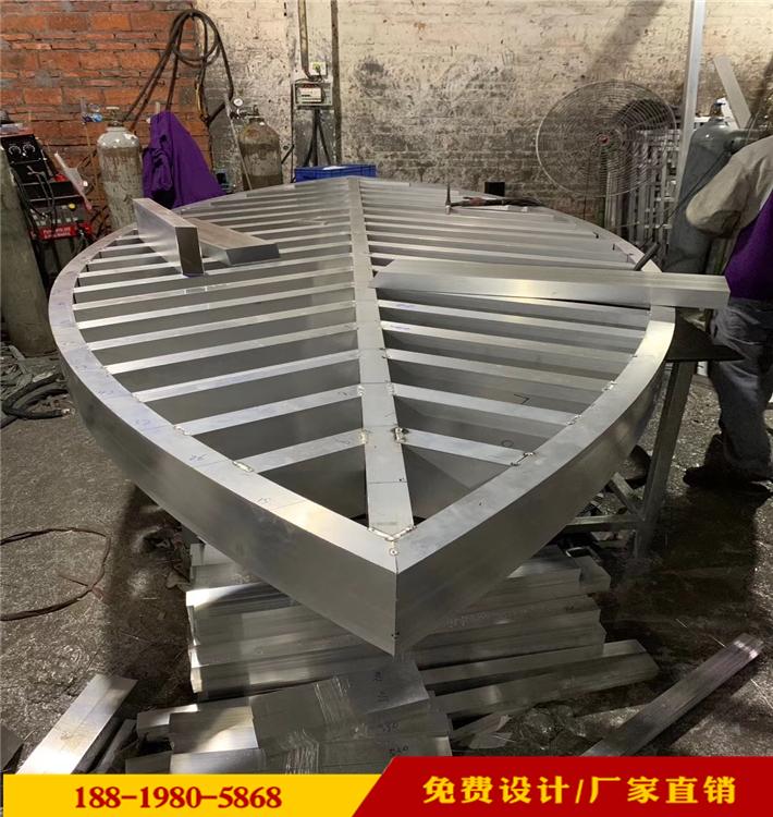 汽車修理店倣古鋁合金護欄定制