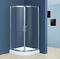 卫浴隔断铝材配件,冲凉房隔断铝材