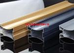 铝型材熔铸 挤压和上色 氟炭喷涂