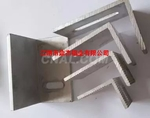 喷砂氧化电泳生产深加工角铝铝型材