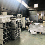 地铁项目各种铝型材CNC精加工