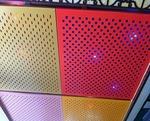 外墙穿孔铝单板 氟碳幕墙冲孔板