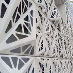 幕墙镂空雕花铝单板 装饰墙铝单板