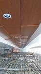 本田4S店异形木纹铝合金板吊顶
