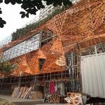 藝術館幕�椓佴╱t碳雕花鋁單板