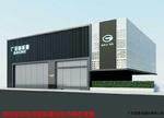 传祺新能源汽车4S店外墙穿孔铝板
