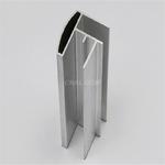 6063淋浴房砂面銀色氧化鋁鎂合金
