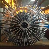 太陽花電器散熱鋁鎂合金型材