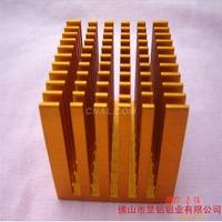 加工散熱片型材氧化著色鋁材