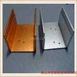 喷砂氧化亮银铝合金深加工铝型材