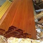 荔譽鋁業廠家木紋鋁方管 支持定制