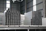 鋁合金方管坯料80x40x1.4mm