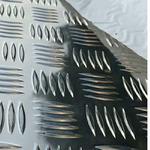 防滑铝板五条筋花纹柳叶国标三号