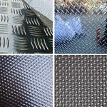 地面防滑花纹铝板厂家五条筋