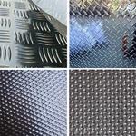 五条筋花纹防滑铝板