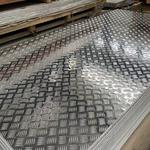 5083花纹铝板防滑五条筋铝板