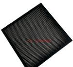 菱形鋁板網吊頂 黑色氟碳噴涂