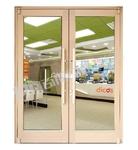 蔣村肯德基門廠家直銷,高配置材料,堅固耐用,是商用門首選