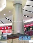 铝天花印刷设备 幕墙铝板 木纹铝单板