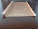 铝合金无缝管 勾搭铝单板