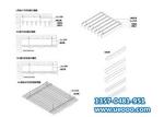 铝合金材料附件 U槽铝板 铝格栅