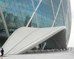 背景墻行政大樓原色/本色3系鋁錳合金墻面鋁單板規格