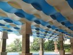 球形多邊形鋁構吊頂造型