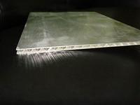 勾搭铝瓦楞铝板_高强度铝蜂窝板