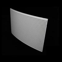 搪瓷原色/本色高光3系铝锰合金吸音铝蜂窝板