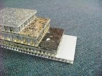 铝蜂窝板厚度_双面铝瓦楞板