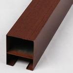 型材木紋色鋁方通