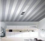 长方形客厅吊顶尺寸图 铝条扣