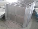過道數控折彎鈦金50053系鋁錳合金室內走廊吊頂效果圖