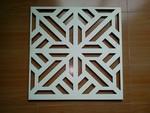 氟碳三涂预滚涂/印花宽300,450,500,600方板0.3~0.6mm钛金铝扣天花板价格