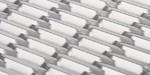 陽極氧化天橋/人行道金色不�袗�勾搭鋁拉網板