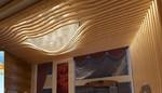光铝1系纯铝客厅吊顶造型简单大方