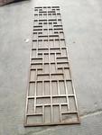 立面格柵養殖場雙色1係純鋁買屏風隔斷