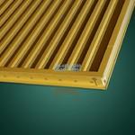 聚酯油漆图书馆6系铝镁硅合金空调金属隔雨罩