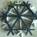 廠家供應三角形鋁格柵,鋁格柵吊頂