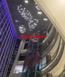 商場吊頂造型鋁方通鋁單板天花