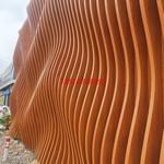 戶外裝飾氟碳木紋鋁方通