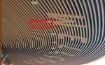 弧线木纹铝型材厂家供货
