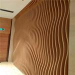 室外木纹弧形铝方通多少钱一米?