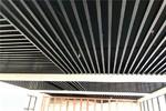 广州健身馆木纹铝方通吊顶