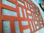 粉末喷涂铝花格窗广东厂家