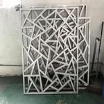 型材铝方通吊顶天花热转印木纹铝